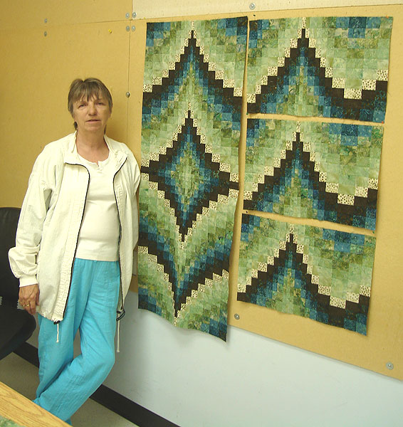 Bargello By The Block Along Came Quilting S Blog