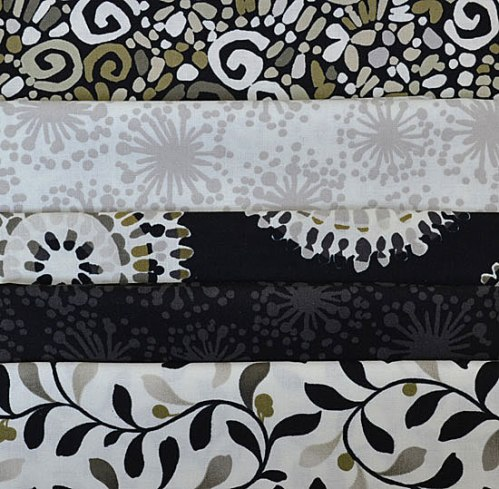 Fabrics in the 2013 Quilt Challenge