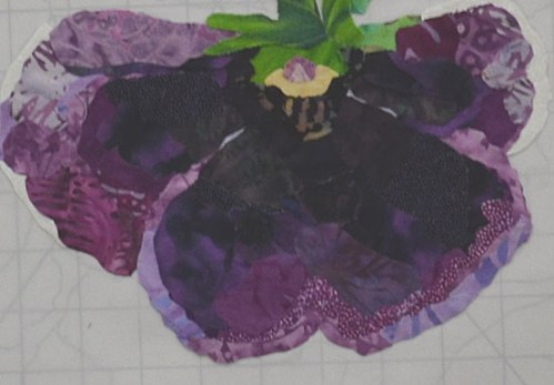Laurie J's pansy.