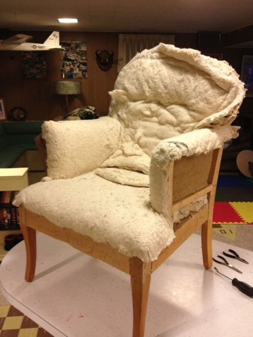 AC 3 skinned chair
