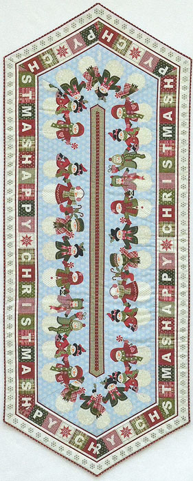 Happy Christmas Table Runner