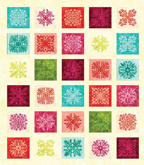Quilt using Splash Bali Tiles