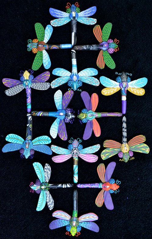 The Dragonfly Pins