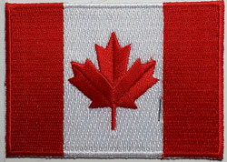 Canada Flag Patch - Single