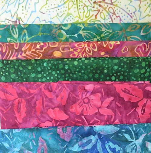 Fabrics in the 2014 Quilt Challenge
