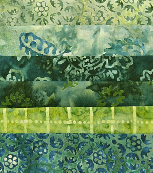 Fabrics in the 2015 Quilt Challenge