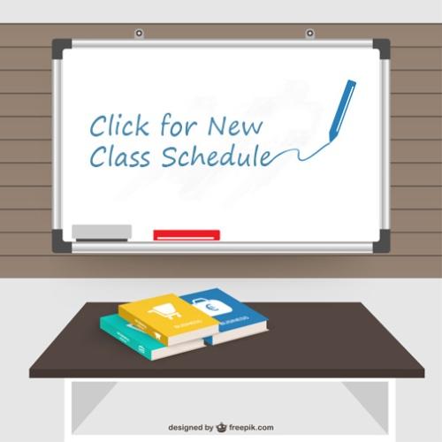 NewClassSchedulegraphic